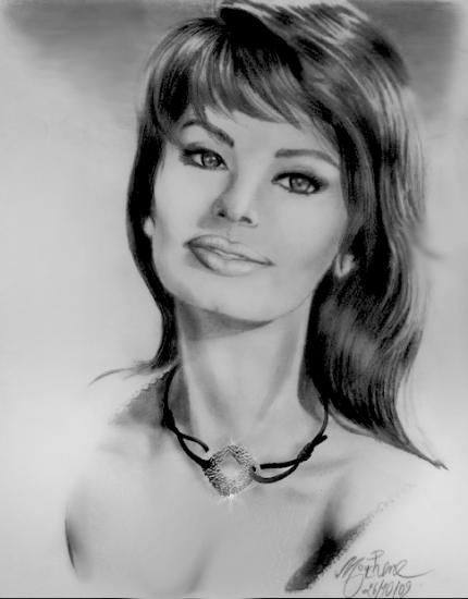 Sophia Loren by Mouchene